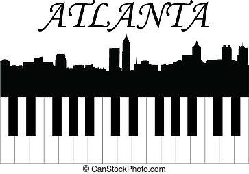 atlanta, muzyka