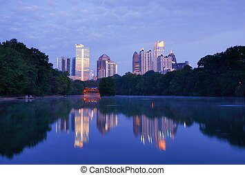 Atlanta Park - Piedmont Park in Atlanta, Georgia
