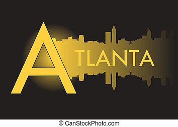 atlanta, v