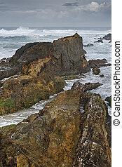 Atlantic coastline