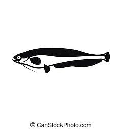 Atlantic mackerel, Scomber scombrus icon