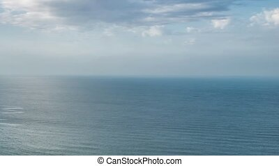 Atlantic ocean coast granite boulders and sea cliffs , ...