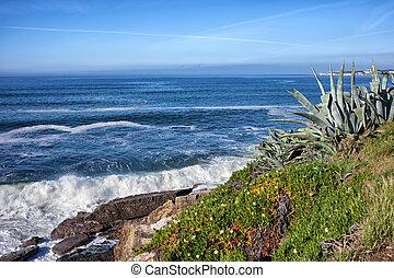 Atlantic Ocean Coastline in Estoril