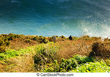 Atlantic ocean overcast Ireland - Beautiful landscape...