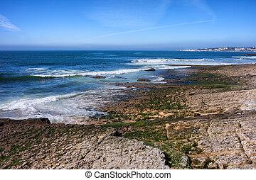 Atlantic Ocean Shore in Estoril