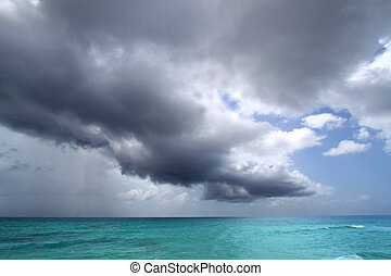 Atlantic Storm Clouds