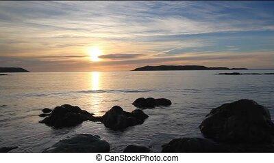 Atlantic Sunrise - Peaceful Atlantic Ocean sunrise.