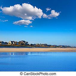 atlantico, spiaggia, in, jacksonville, di, florida, stati...