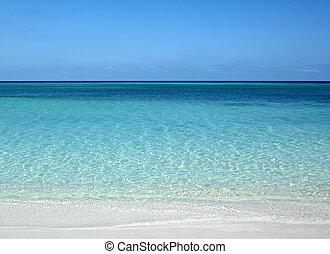 atlantique, guardalavaca, océan, cuba