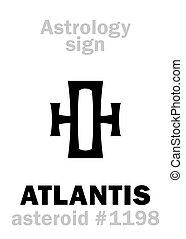 atlantis, astrology:, 小惑星