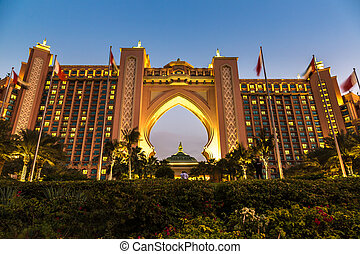 Atlantis, The Palm Hotel in Dubai,