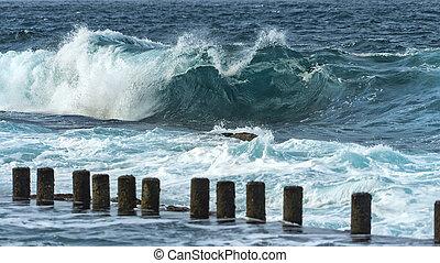 atlantisch, wellen
