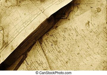 atlas, mapa, livro
