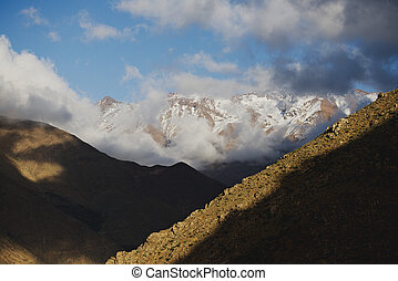 Atlas Mountains - The valleys and peaks of the High Atlas...