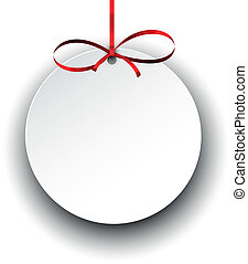 atlaszselyem, újság kártya, bow., tehetség, piros white