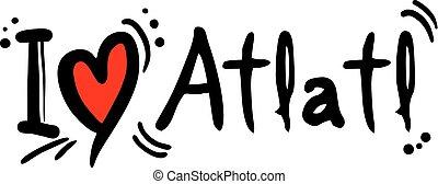 atlatl, amour