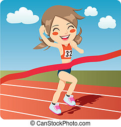 atleta, donna