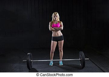 atleta, hembra