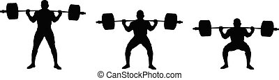 atleta, jogo, powerlifting, powerlifter, exercício