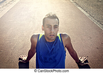 atleta, joven