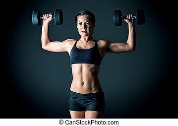 atleta, kobieta