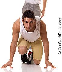 atleta,  Sprinting