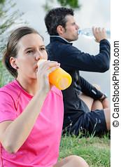 atletas, hidratación