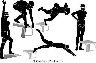 atleten, badare
