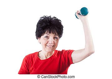 atletisk,  Senior, kvinna