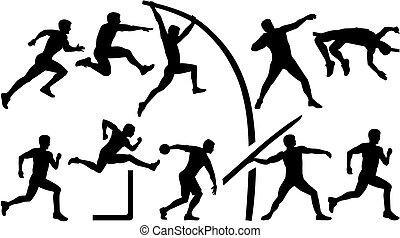 atletyka, komplet, dziesięciobój