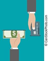 atm, 現金, 支払い, クレジット, ∥あるいは∥, カード