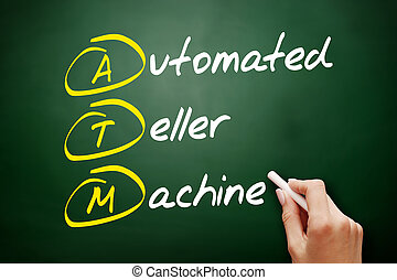 ATM Automated Teller Machine acronym