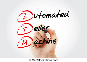 ATM - Automated Teller Machine acronym