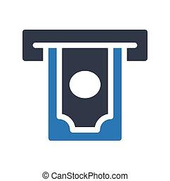 atm glyph color icon
