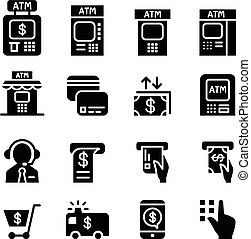 ATM icons