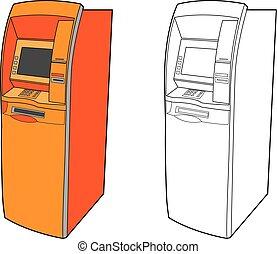 ATM machine - cash dispenser