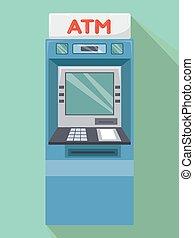 ATM Machine Illustration