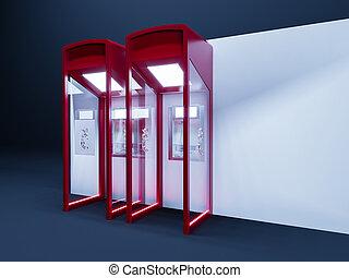 ATM Machine Payments Receive Money 3d rendering