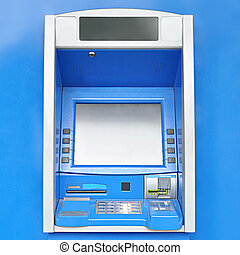 ATM or automated teller machine