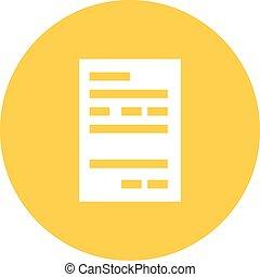 Atm Receipt - Atm, receipt, card icon vector image. Can also...