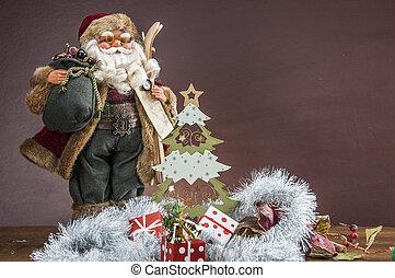 atmosférico, decoraciones de navidad