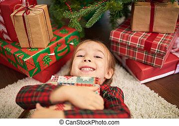 atmosfeer, het genieten van, kerstmis