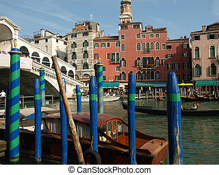 Atmosphere of Canal Grande - Venice Italy