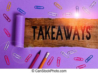 ato, takeaways., foto, dar, escrita, ou, nota, tu,...