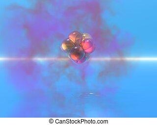 Atom cloud