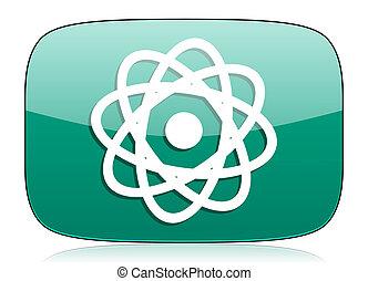 atom green icon