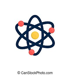 Atom molecule isolated