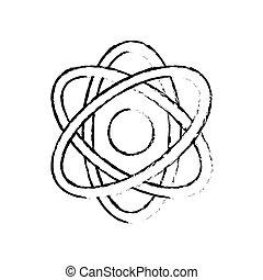 Atom science molecule