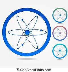 atomtegn liste