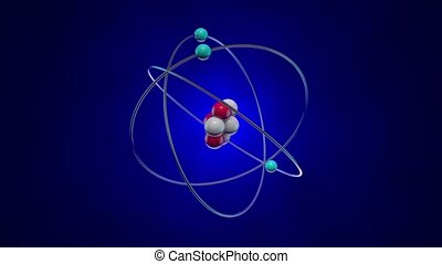 Atom - The structure of the atom: the nucleus (neurons and ...